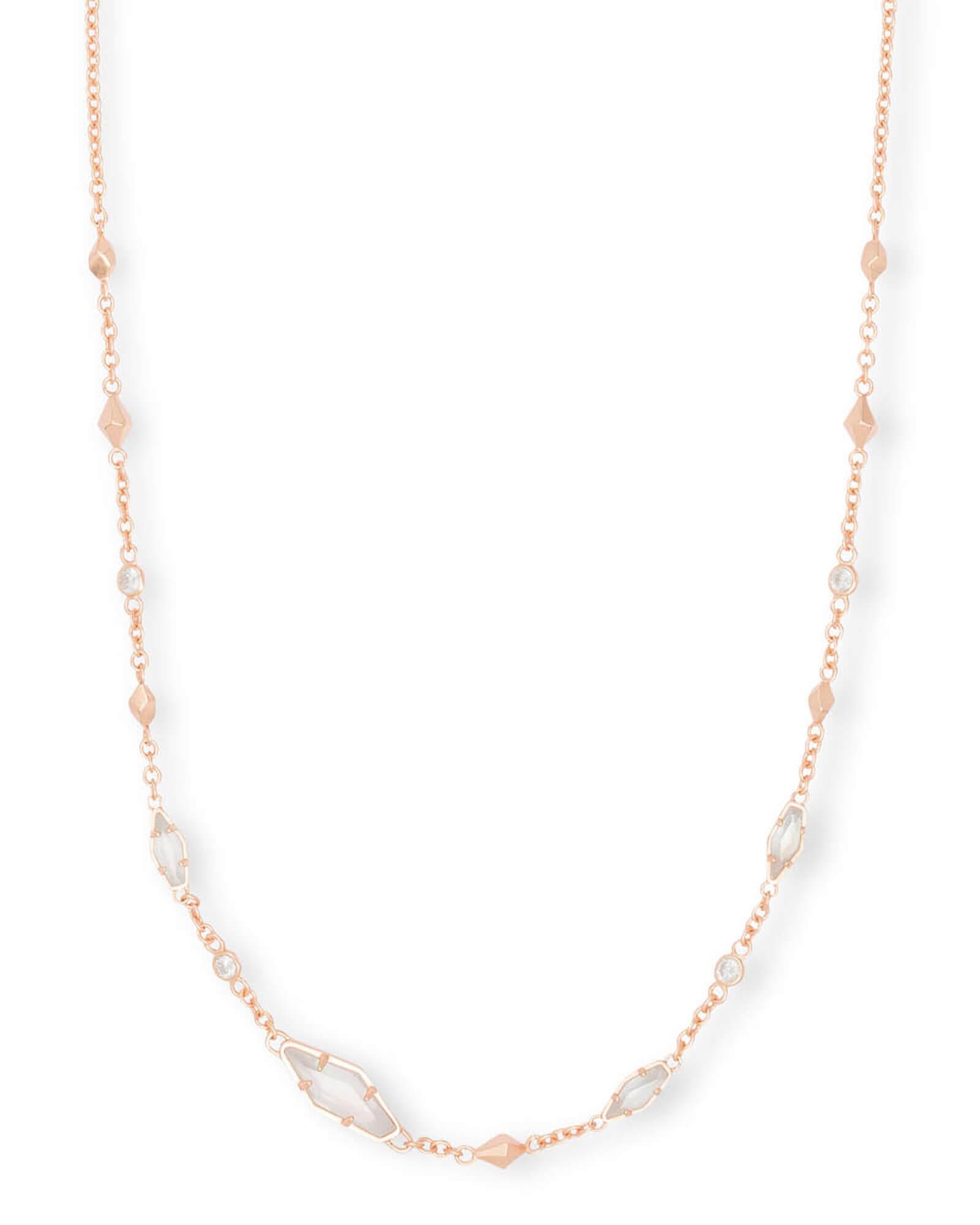 0223d4f8796a80 Debra Choker Necklace in Rose Gold | Jewelry | Kendra Scott
