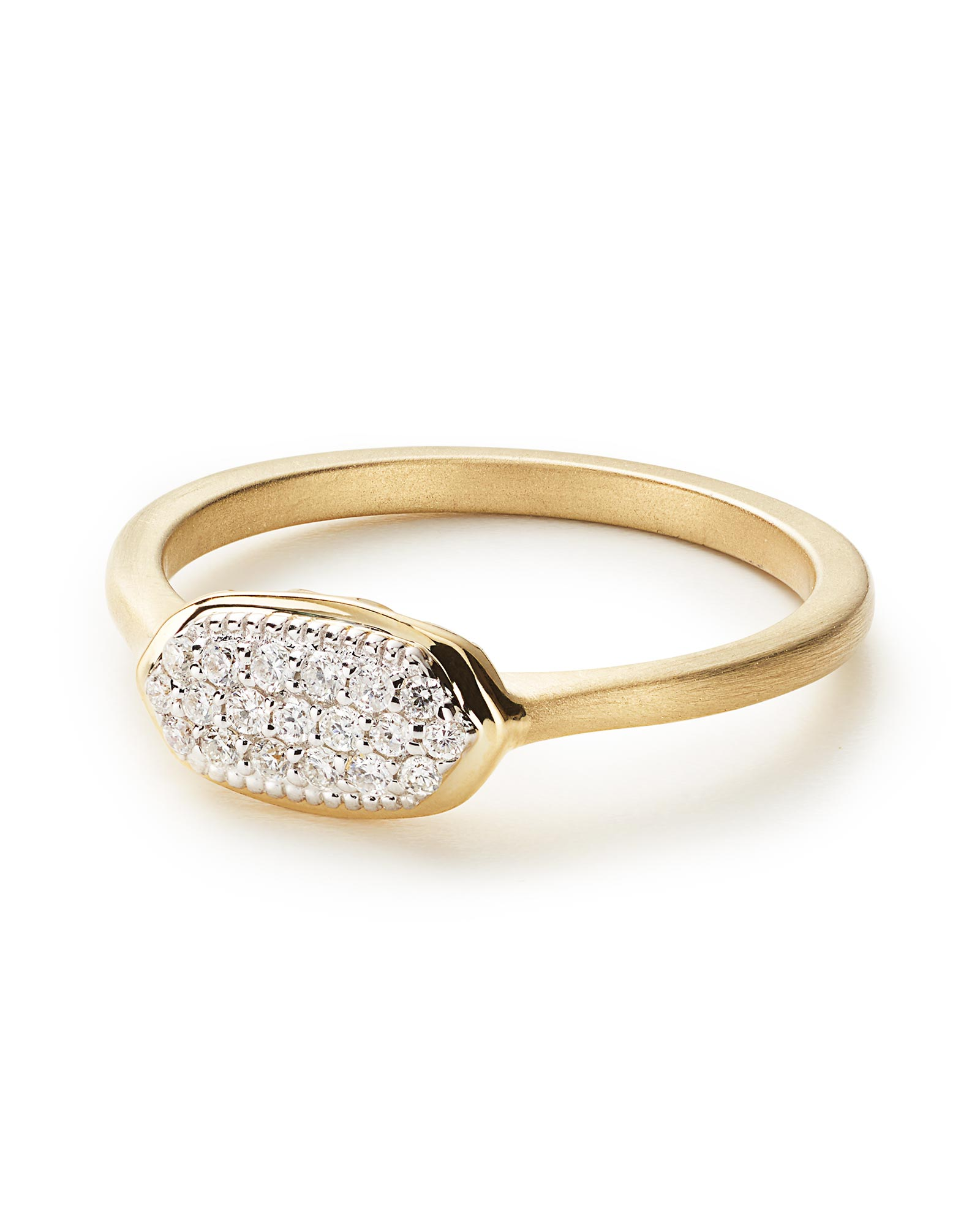 Isa Pave Diamond Ring