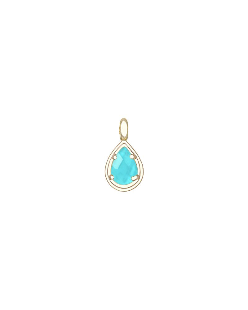 December Birthstone Pendant Charm in Gold | Kendra Scott