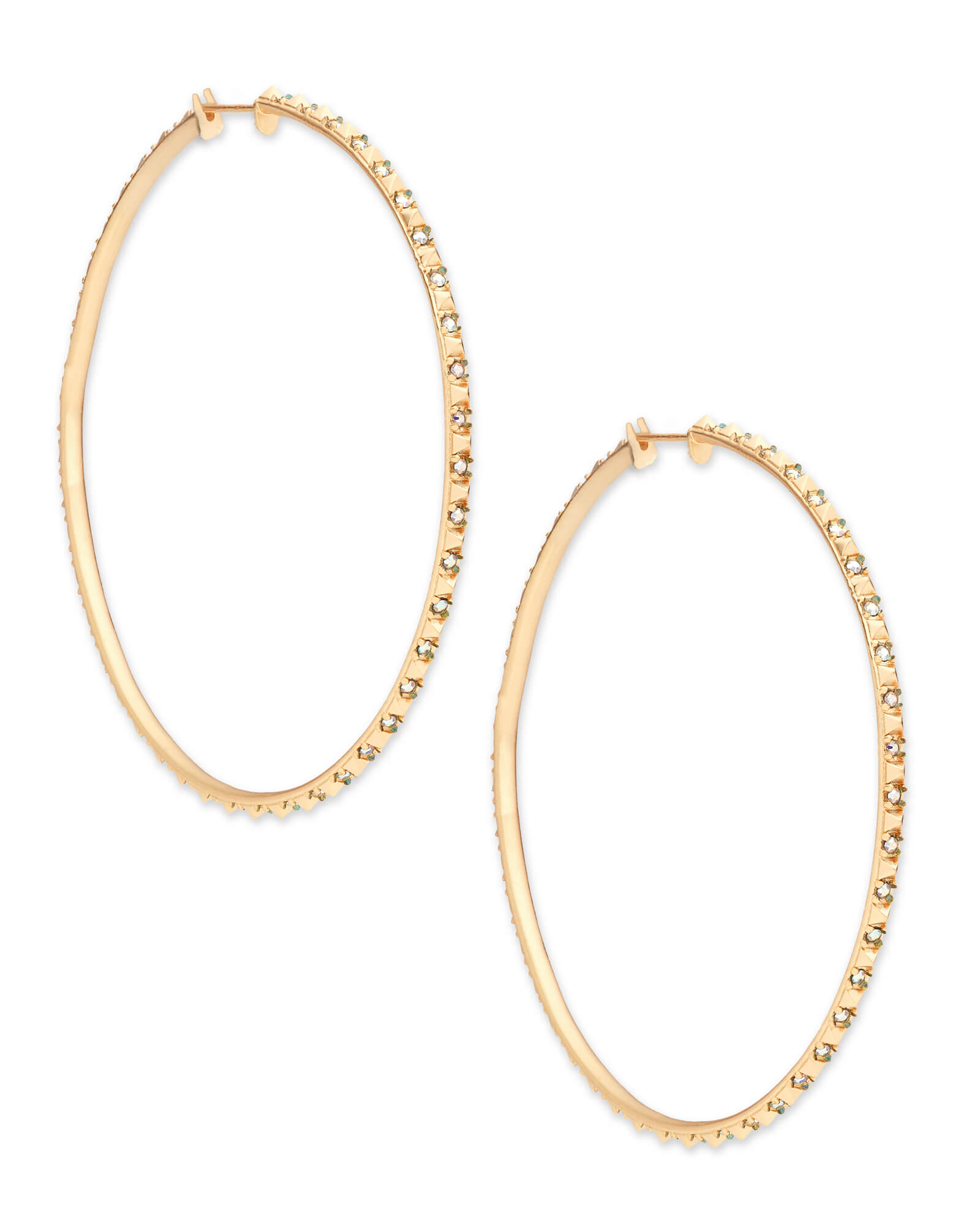 Annemarie Hoop Earrings in Gold