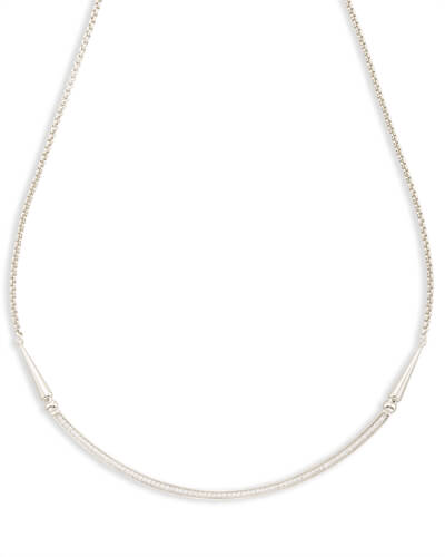 Scottie Choker Necklace in Silver