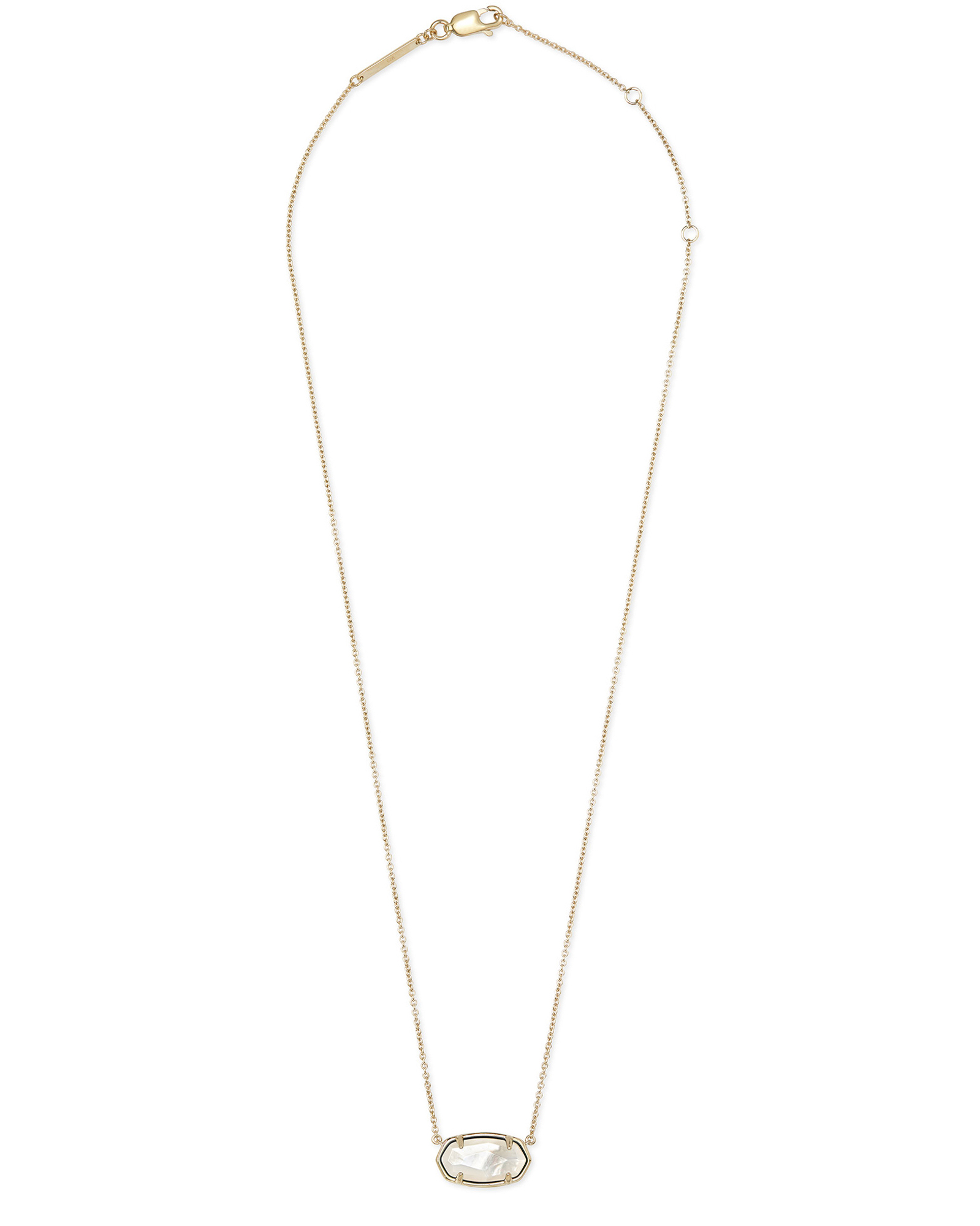 Elisa 18k Gold Vermeil Pendant Necklace