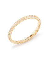 Remi Band Ring in 14k Gold and White Diamonds