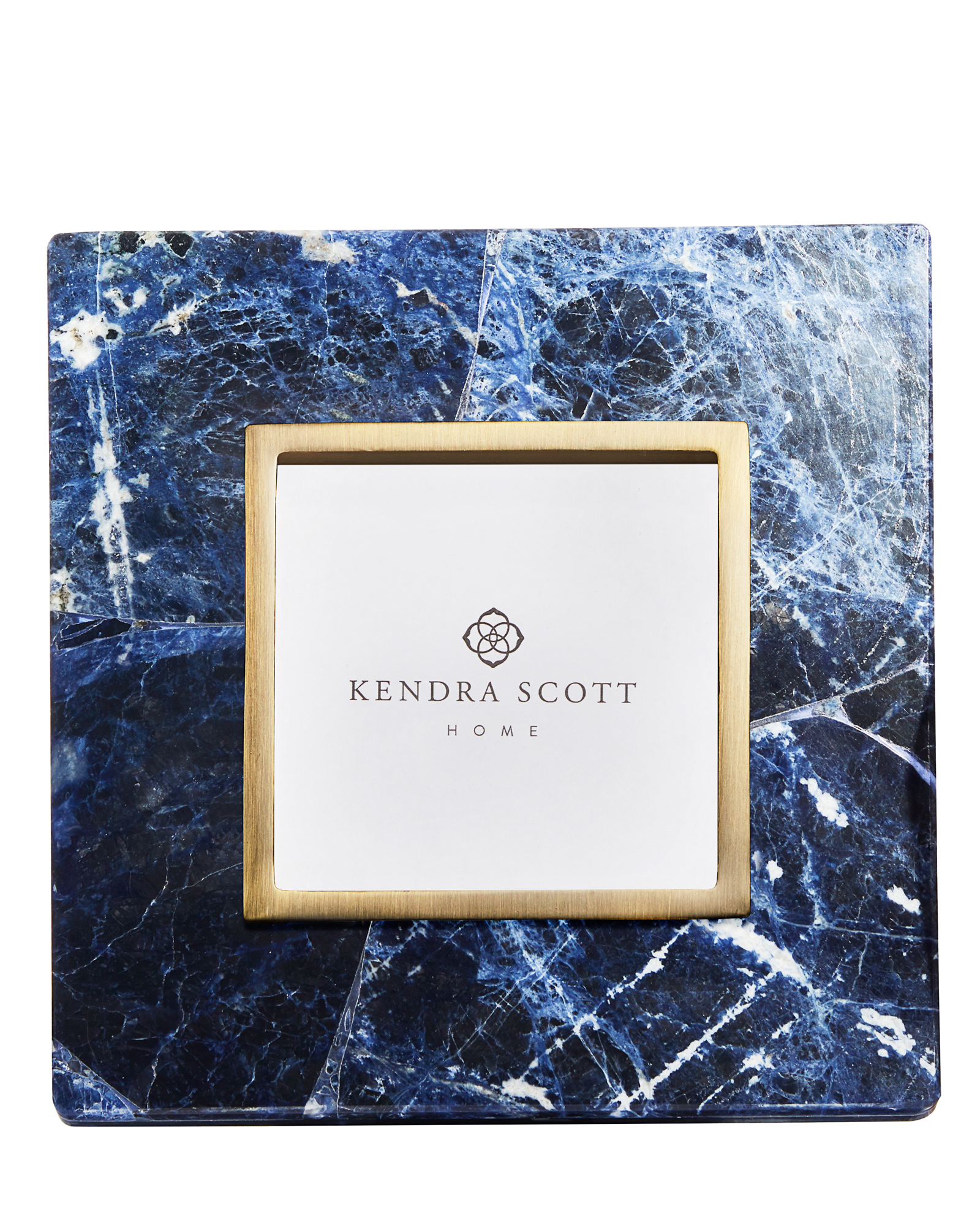 Picture frames in blue sodalite photos frames kendra scott 4x4 photo frame in blue sodalite jeuxipadfo Images