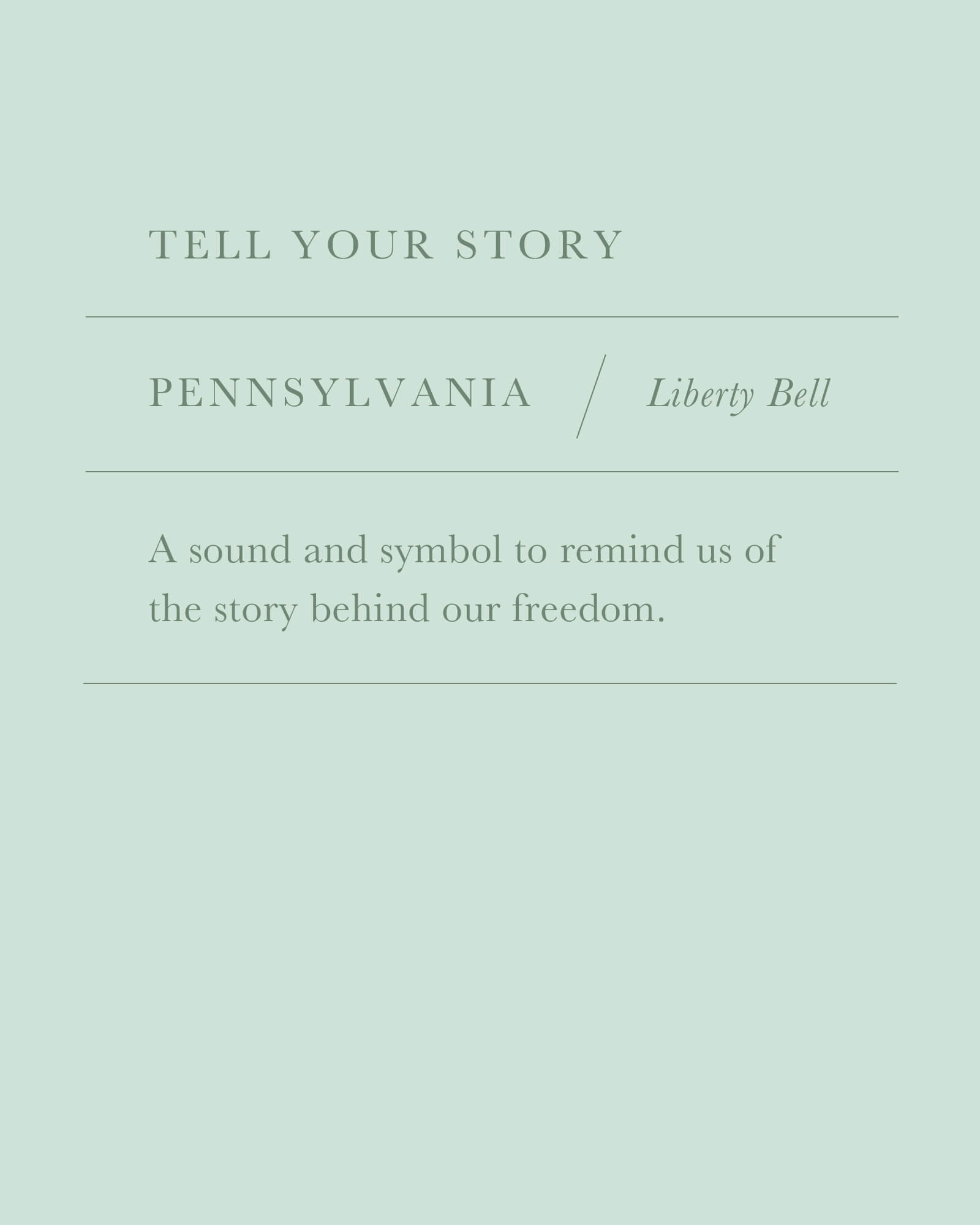 Pennsylvania Liberty Bell Charm in Vintage Silver