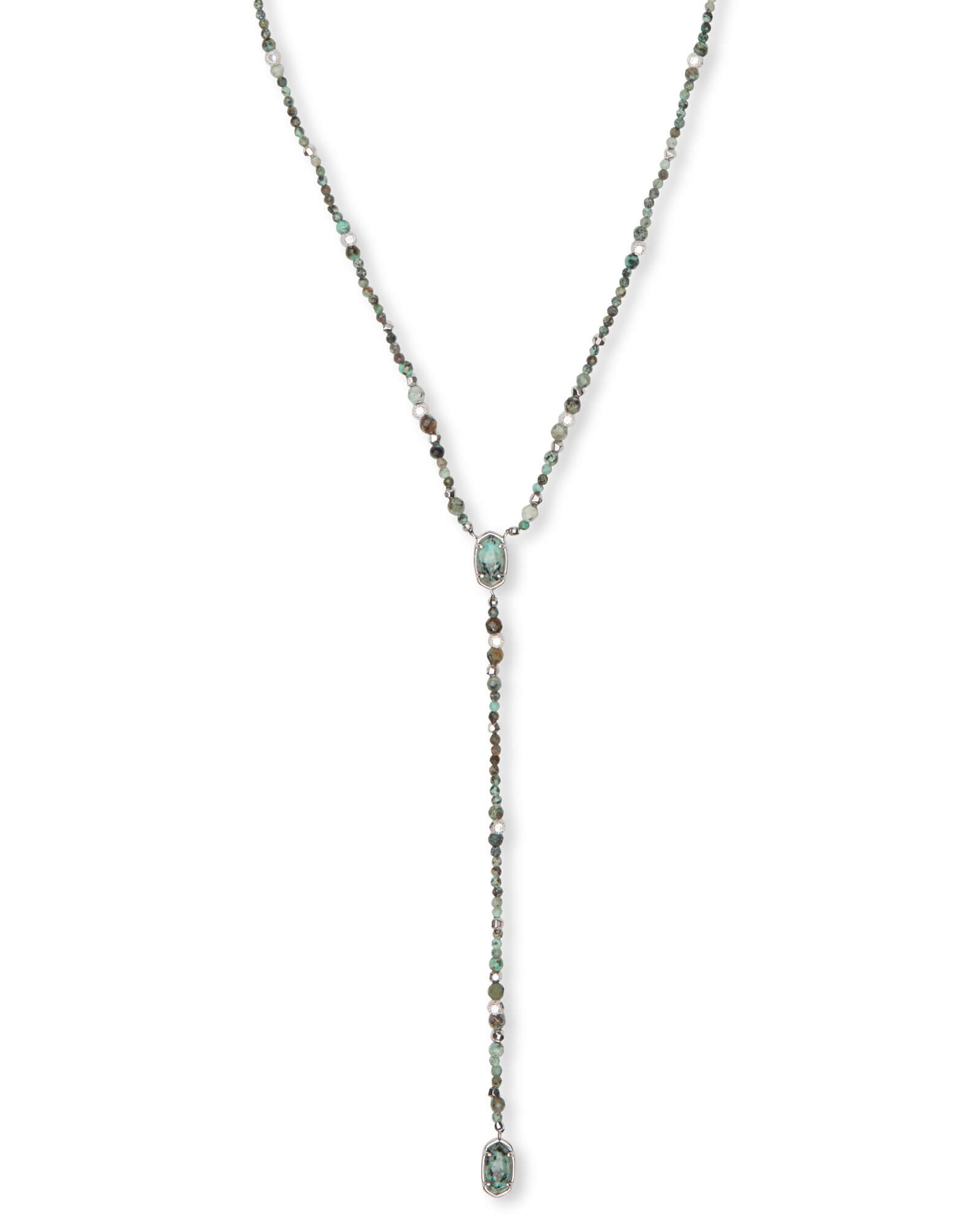 Bethany Silver Y Necklace