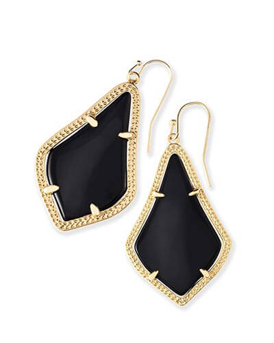 Alex Earrings in Black