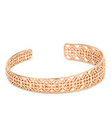 Uma Cuff Bracelet In Rose Gold