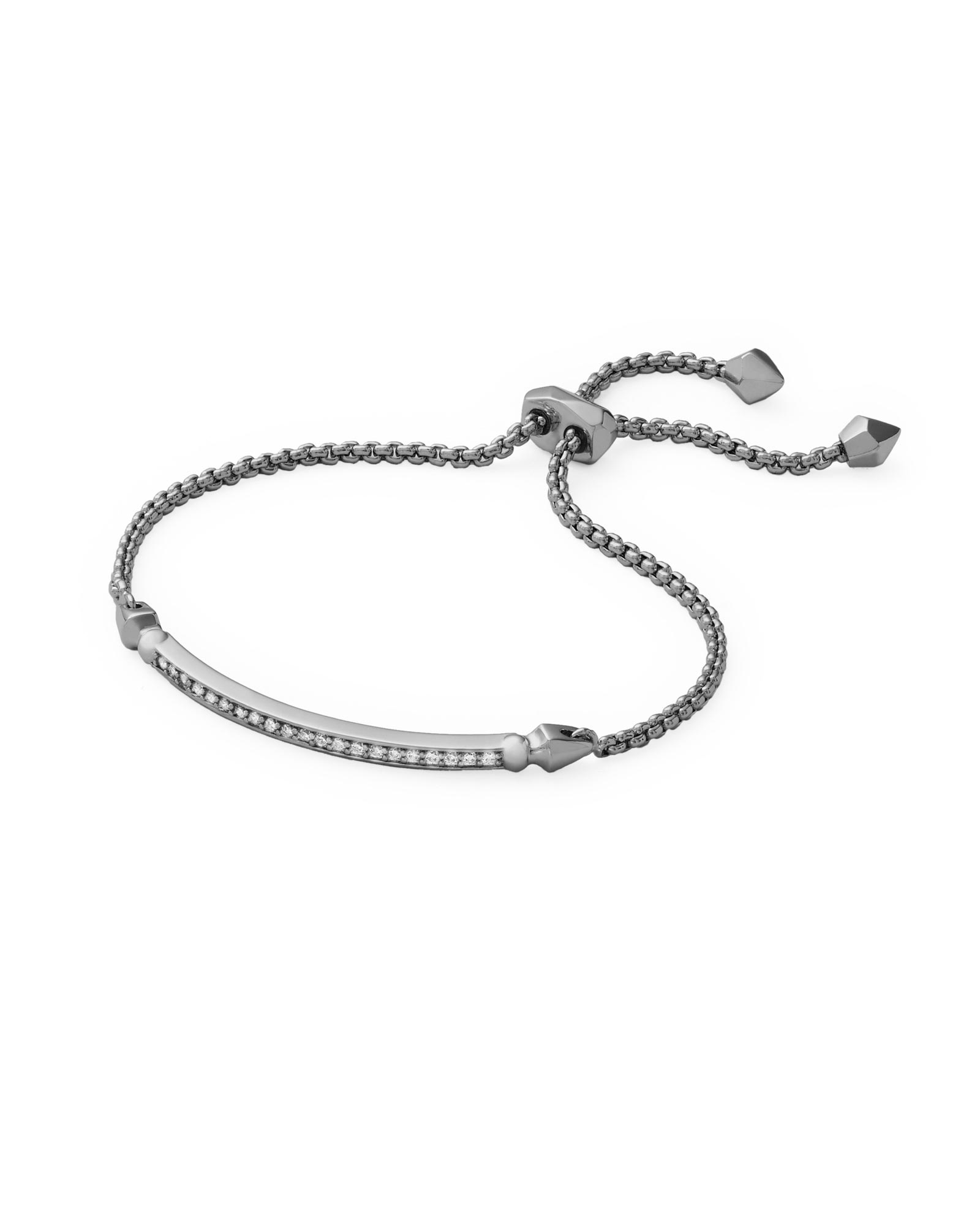 Ott Adjule Bracelet In Hematite Kendra Scott Jewelry