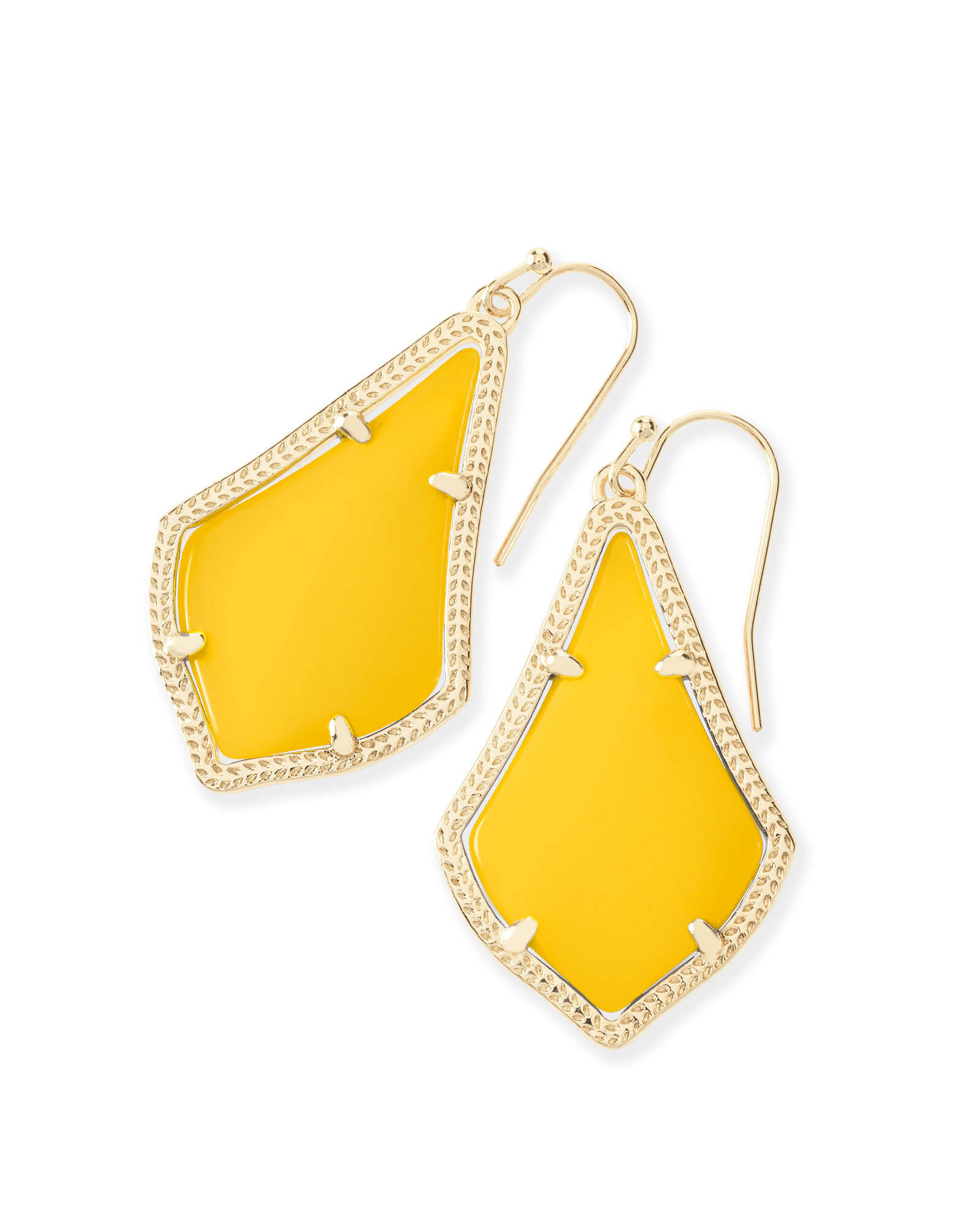 Alex Earrings in Yellow