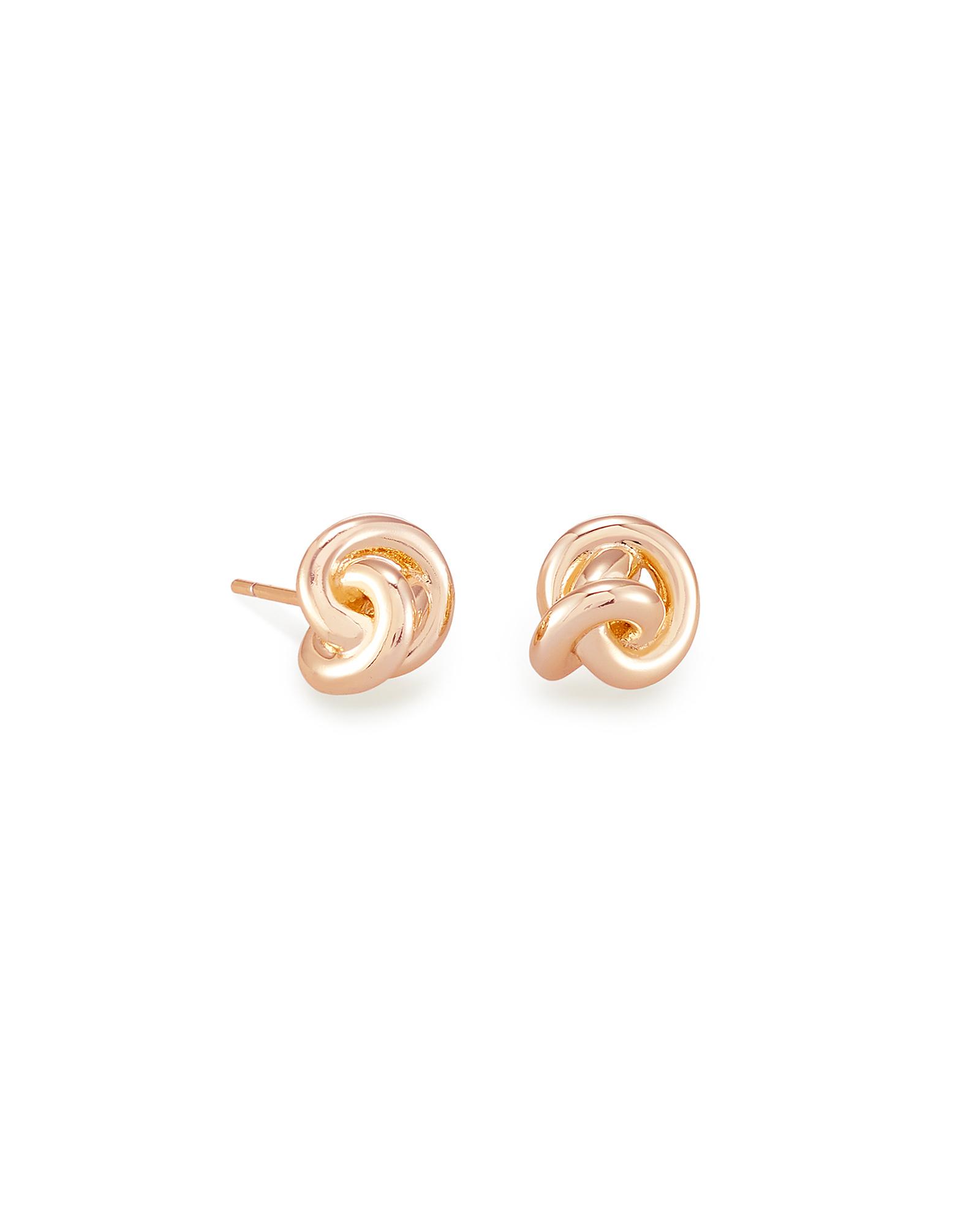 Cute Heart Earrings Women Wedding Party Charm Love Gold Plated Stud Earrinca