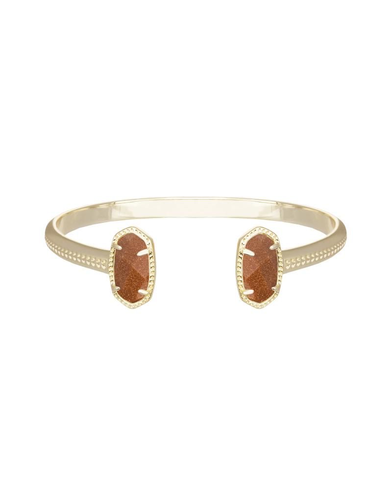 Elton Bracelet in Goldstone