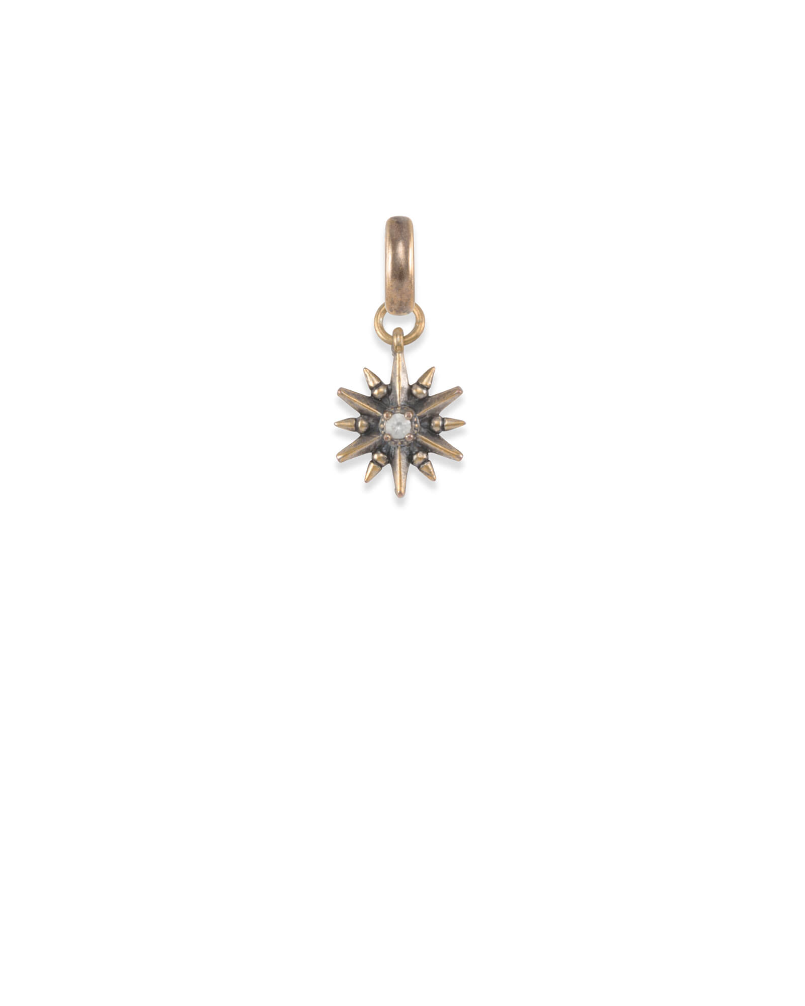 Star Charm in Vintage Gold