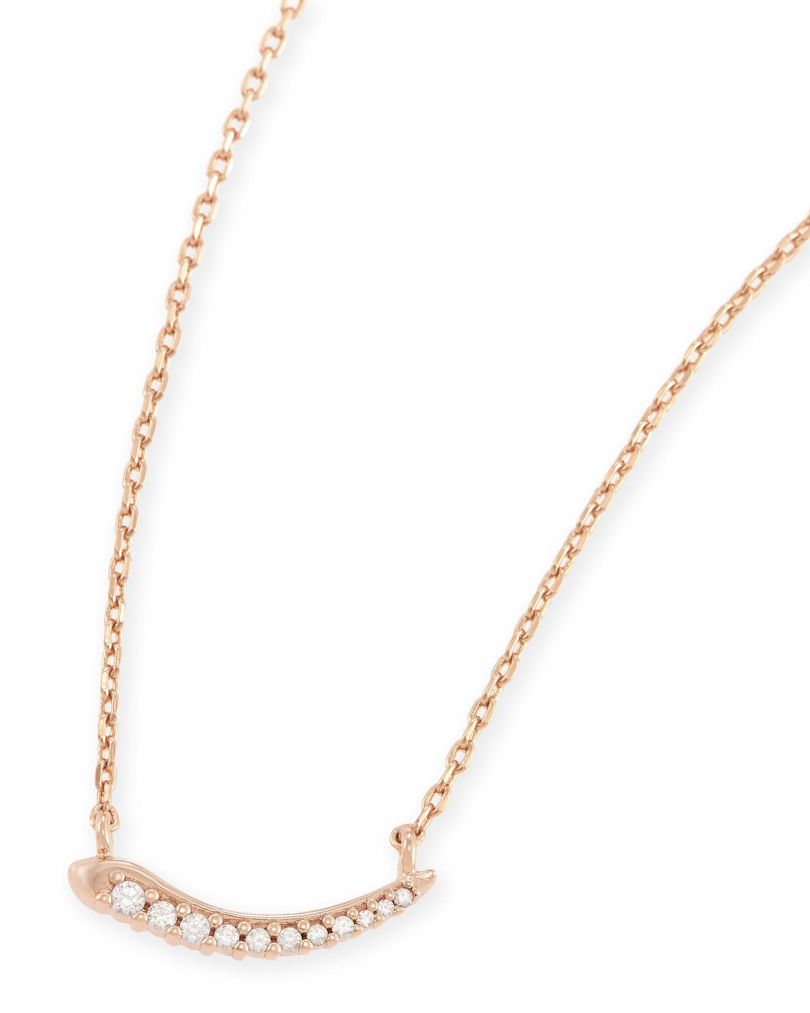 Whitlee Bar Pendant Necklace