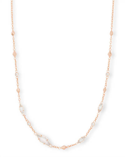 Debra Choker Necklace in Rose Gold