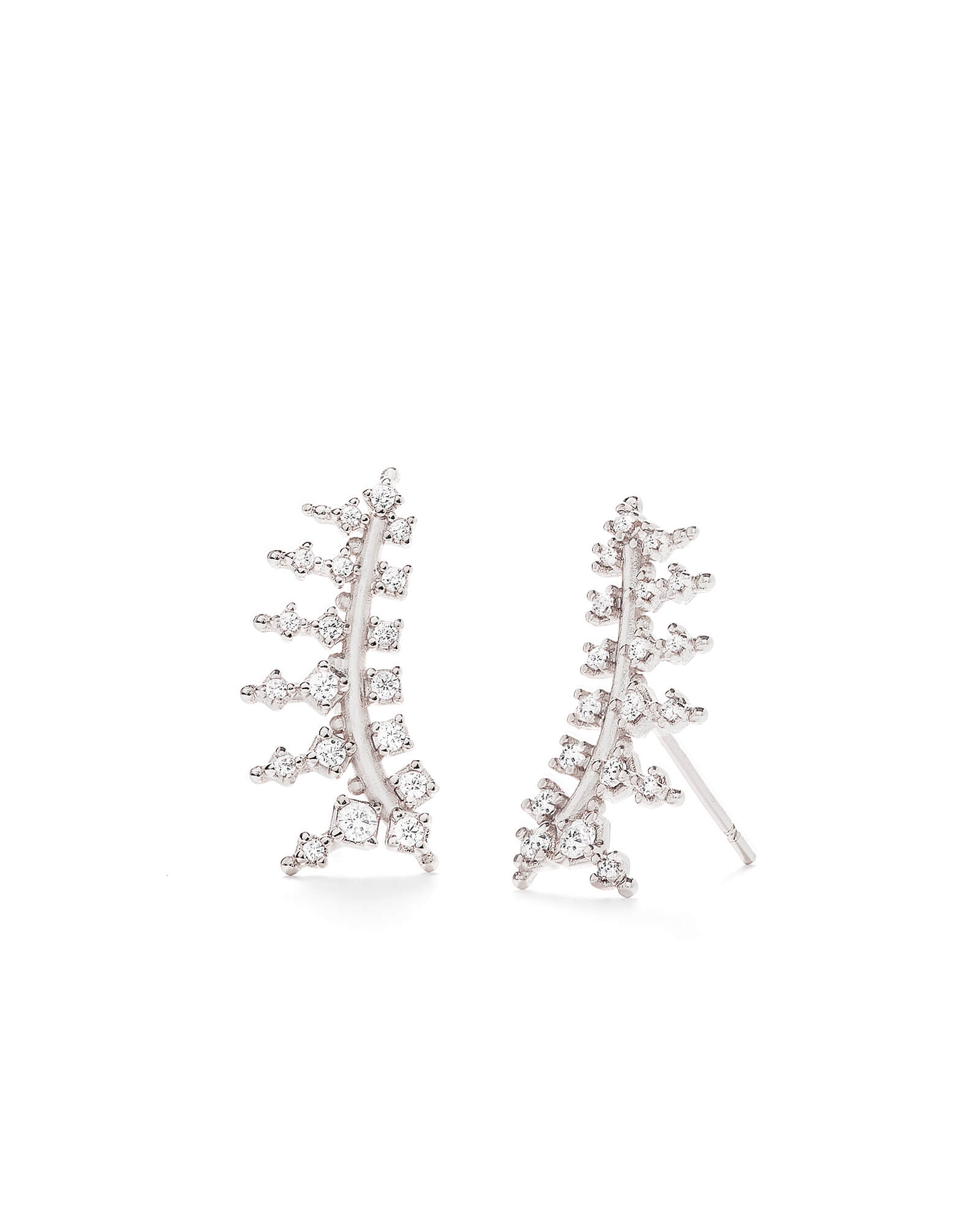Laurie Ear Climbers in Silver