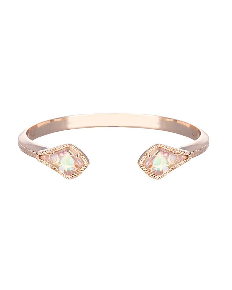 Liana Bracelet in Iridescent Peach