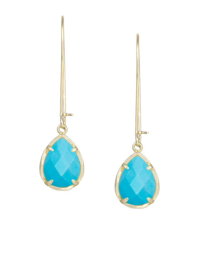 Dee Earrings In Turquoise