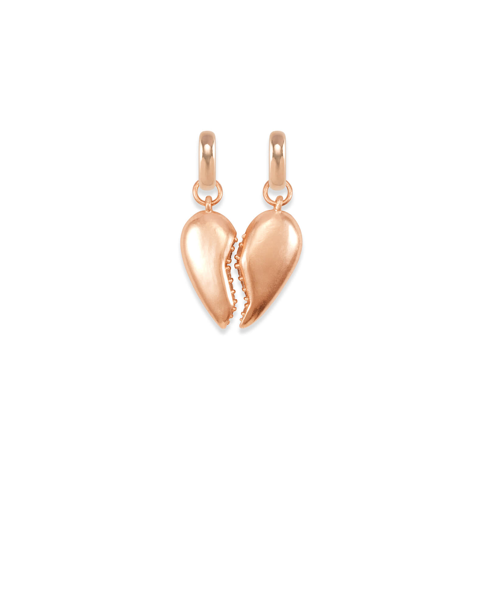Best Friend Charm Set in Rose Gold