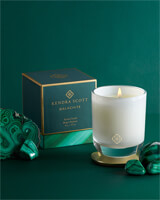 Malachite Large Tumbler Candle