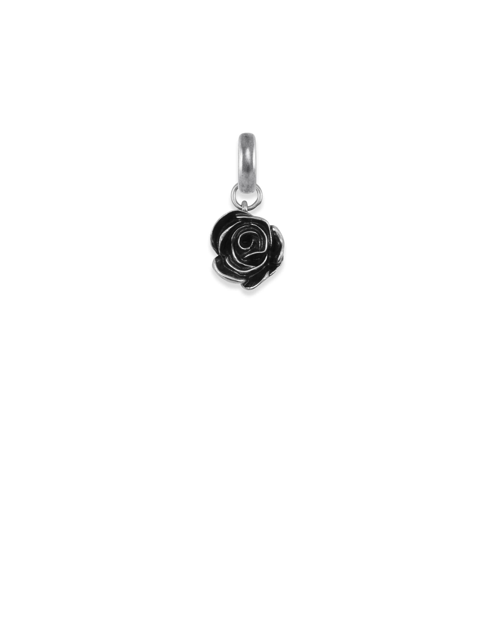 Women Empowerment Charm in Vintage Silver