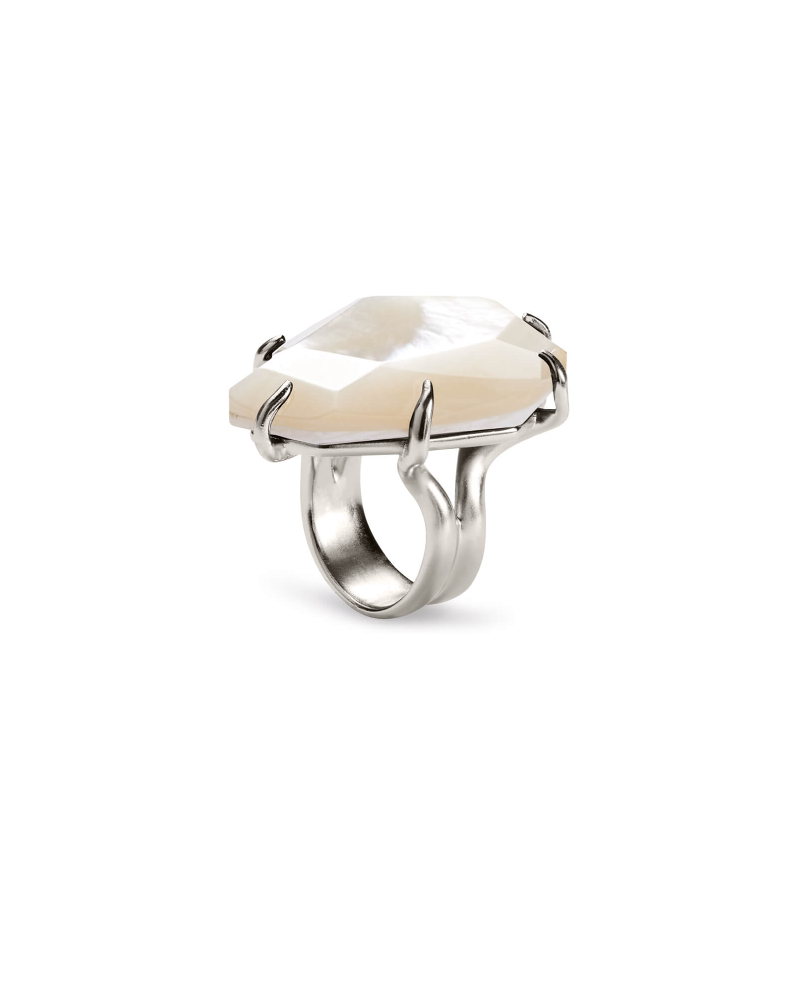 Megan Cocktail Ring in Silver