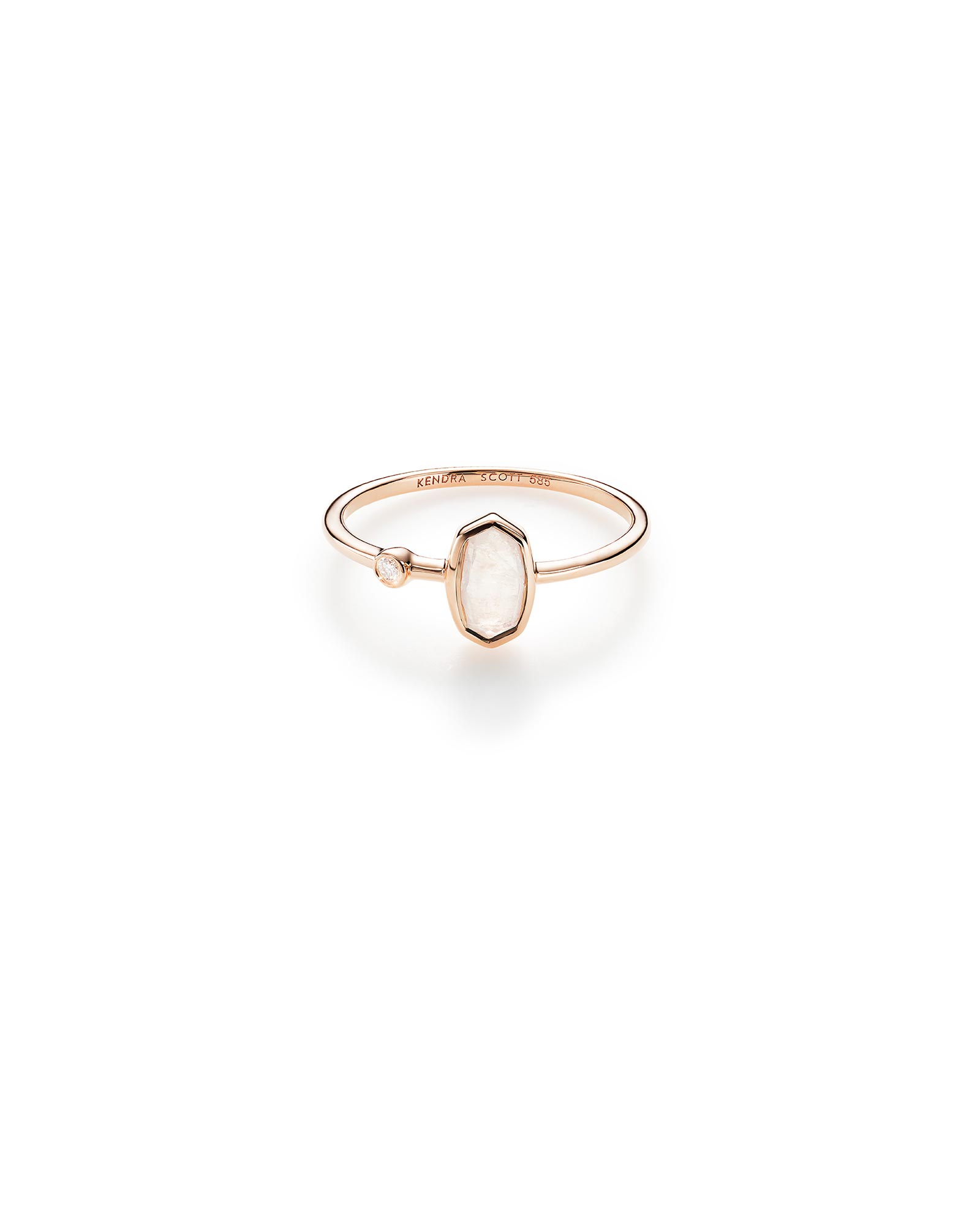 Chastain Ring in Rose Gold