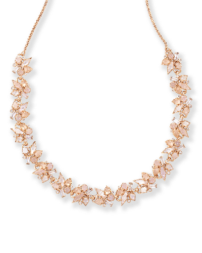 Andrina Choker Necklace in Rose Gold