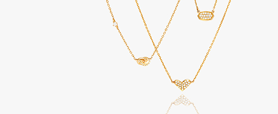 Shop 14k Gold Fine Jewelry Pendant Necklaces