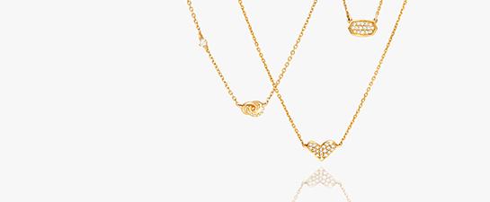 Shop 14k Gold Fine Jewelry Pendant Necklaces