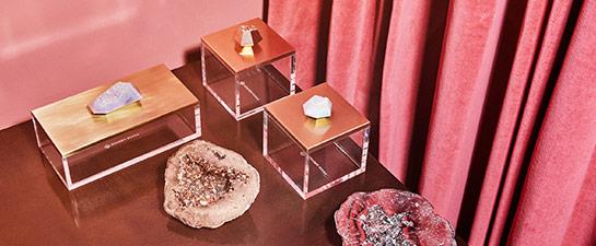 Decorative Drusy Accessories